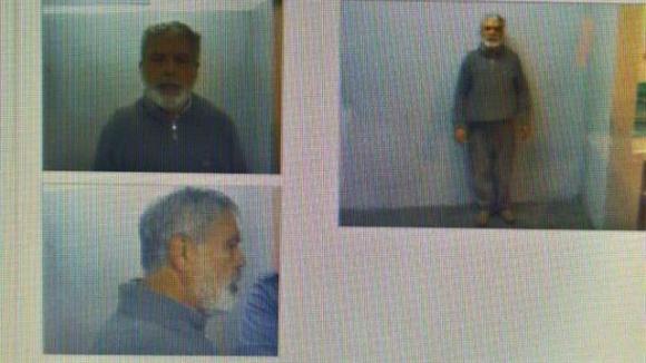 Las primeras fotos de De Vido preso. Foto: La Nación (GDA)