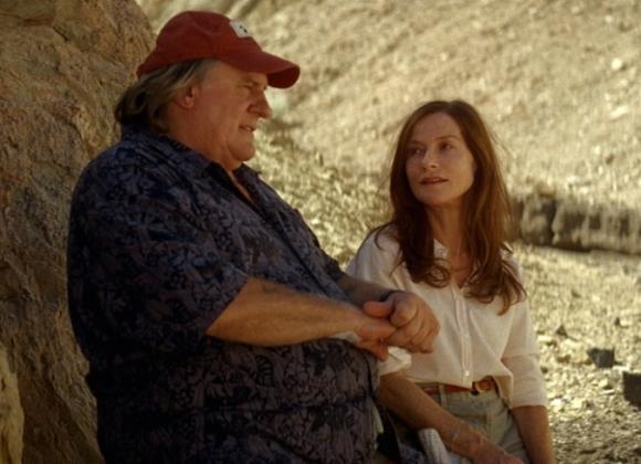 Isabelle Huppert y Gerard Depardieu en El valle del amor