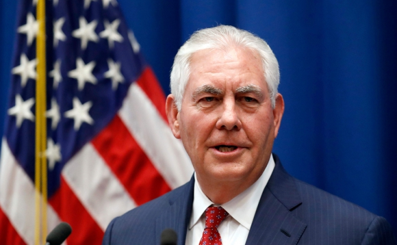 Rex Tillerson cargó duro contra el presidente sirio. Foto: AFP
