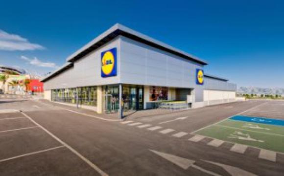 La cadena de supermercados Lidl es de origen alemán y tiene sucursales en varios países de Europa. Foto: EFE