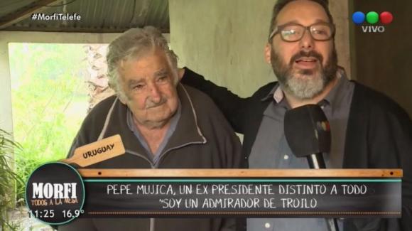 José Mujica y Gerardo Rozín