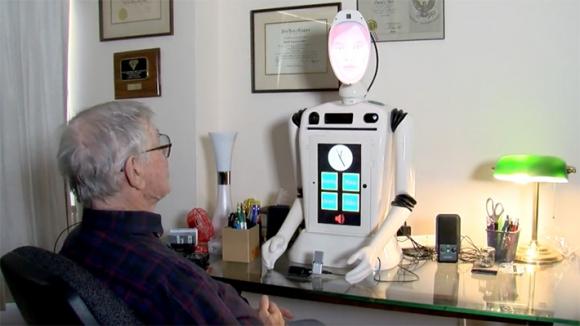 Ryan la robot empática. Foto: Universidad de Denver
