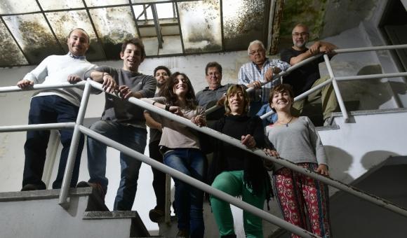 Equipo: el Observatorio Geofísico funciona en un edificio de Dinamige. Foto: F. Ponzetto