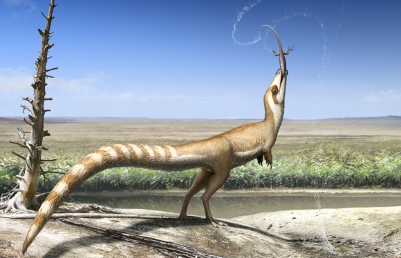 Dinosaurio. Foto: AFP