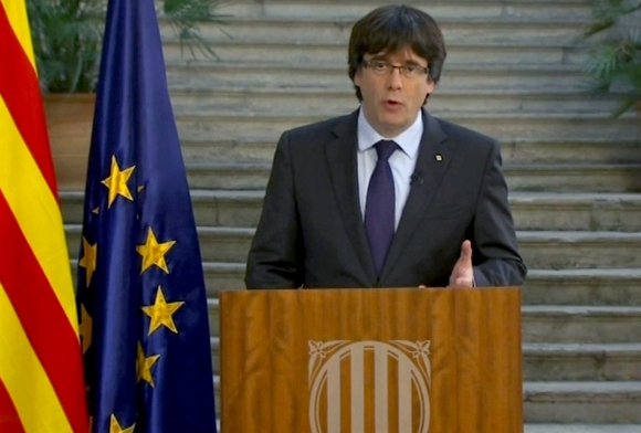 Carles Puigdemont. Foto: EFE