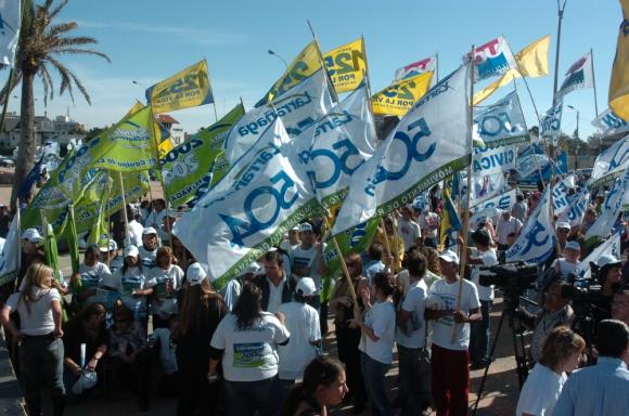 Los partidos de la oposición preparan movilizaciones masivas con vistas a 2019. Foto: Archivo