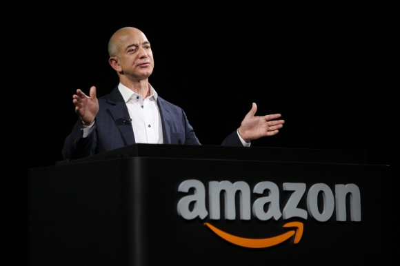 Jeff Bezos, CEO de Amazon. Foto: AFP