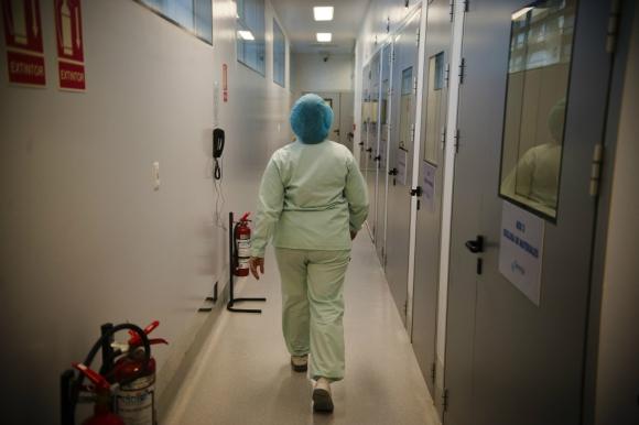 Funcionarios de Salud Pública reclaman equiparar salarios de todo el personal. Foto: F. Ponzetto