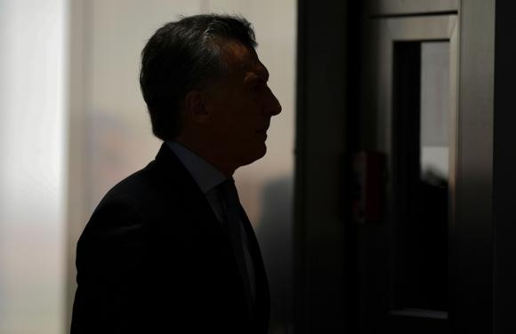 La idea de Macri es que el Estado se desprenda de empresas de las que no tenga el control. Foto: AFP