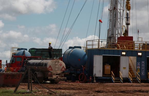Avance: la empresa tiene cuatro áreas para explorar en Paysandu, Salto y Tacuarembó. Foto: Mateo Vázquez