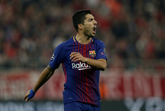Luis Suárez atraviesa una racha negativa en materia de goles