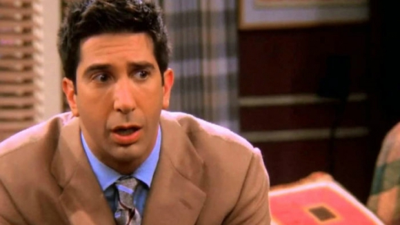 David Schwimmer en Friends