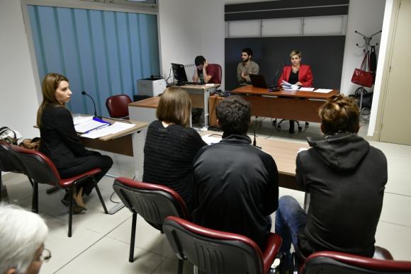 La jueza María Rosa Aguirre llevó adelante un proceso oral contra dos acusados de hurto. Foto: F. Ponzetto