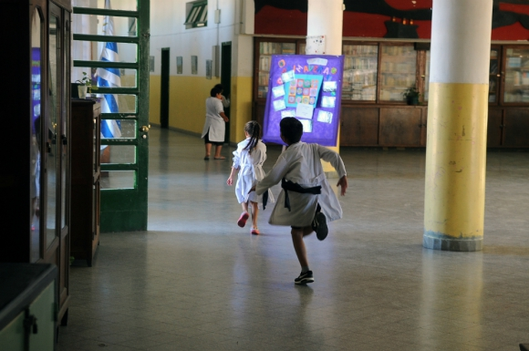 Discusión: ¿Debe un niño ingresar a la escuela con 5 años?. Foto: F. Ponzetto