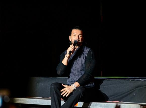 Ricardo Arjona en el Estadio Centenario. Foto: Difusión
