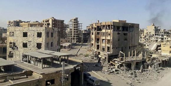 Siria: El Estado Islámico también está en retirada en Irak. Foto: EFE