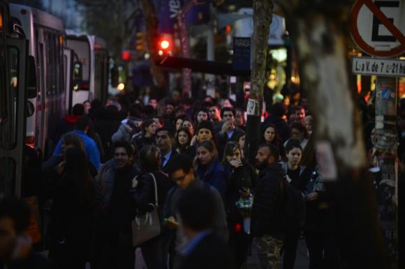 El tiempo de espera en las paradas es un factor que incrementa la visión general negativa. Foto. G. Pérez
