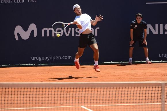 Nicolás Xiviller. Foto: Prensa Uruguay Open.