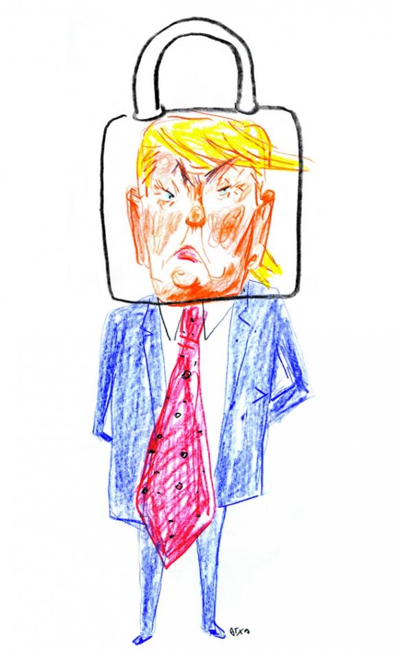 Donald Trump por Arotxa