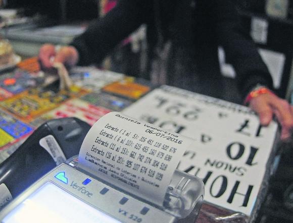 Quiniela: se dispuso que montos menores a $ 2.000 se puedan cobrar en cualquier agencia. Foto: F. Ponzetto