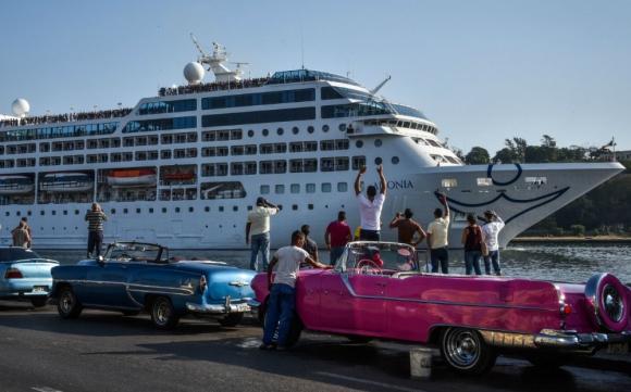 Se calcula que se harán 286 viajes en crucero a la isla hasta 2019. Foto: AFP