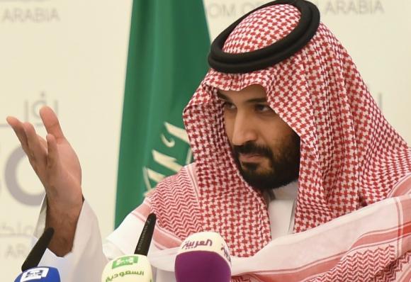 Mohamed bin Salmán, príncipe heredero de Arabia Saudita. Foto: AFP