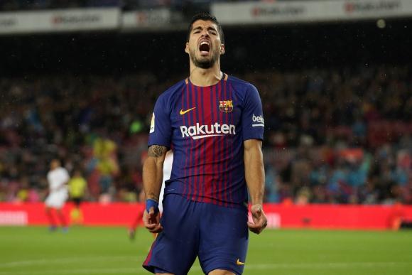 Luis Suárez sigue con una racha negativa sin goles