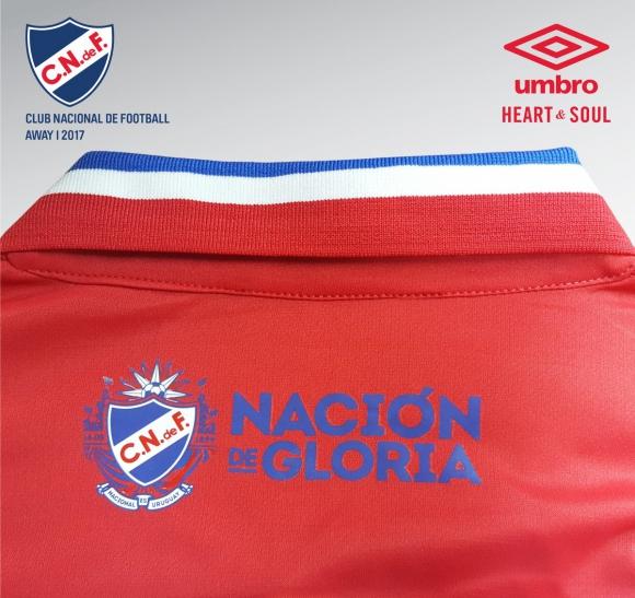 La nueva camiseta de Nacional en honor a la Intercontinental de 1971. Foto: @Nacional