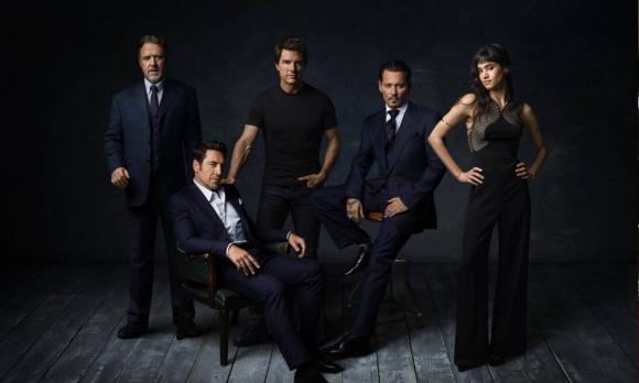 """El elenco del """"Dark Universe"""""""