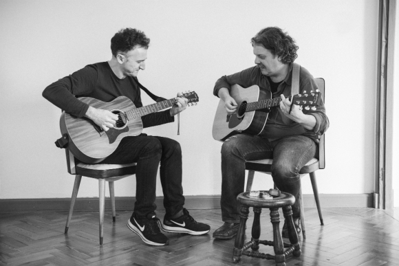 Carlos Casacuberta y Mario Villagrán