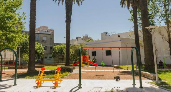 Las plazas fueron costeadas por el Municipio B. Foto: Espacio de Arte Contemporáneo