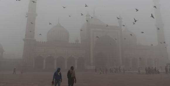 Contaminación en india y pakistán