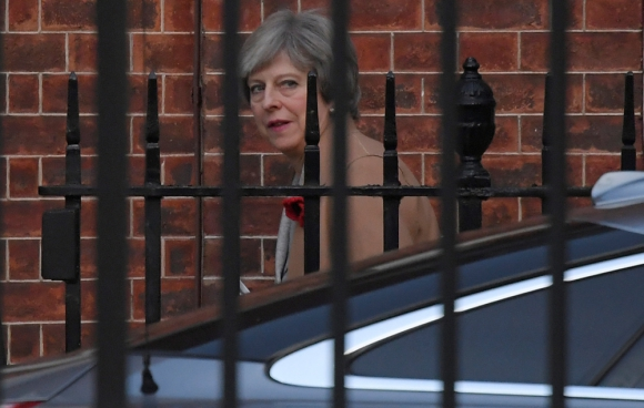 Theresa May, primera ministra del Reino Unido. Foto: Reuters