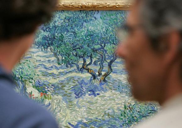 El hallazgo refleja la práctica del artista de pintar al aire libre. Foto: AFP