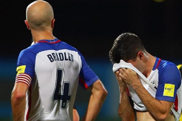 La selección quedó eliminada tras perder con Trinidad y Tobago. Foto: AFP