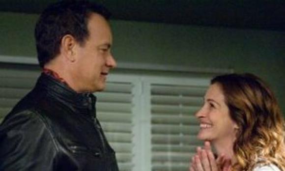 Julia Roberts y Tom Hanks en Larry Crowne