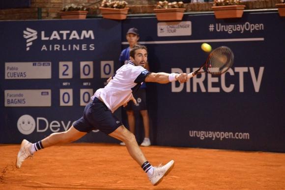 Pablo Cuevas. Foto: Gastón Montero/Uruguay Open.