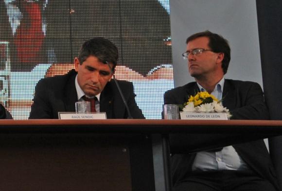 Sendic y De León ya declararon ante la Justicia. Foto: Adrian Giudice / Presidencia