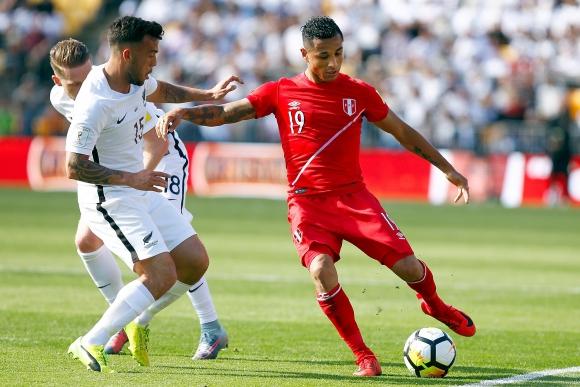 Nueva Zelanda vs. Perú. Foto: EFE.
