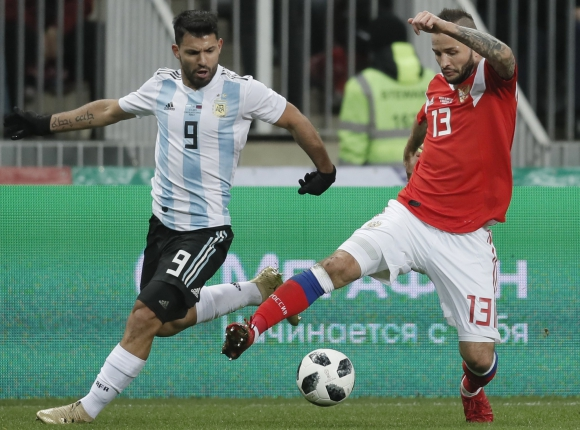 Rusia vs. Argentina. Foto: EFE.