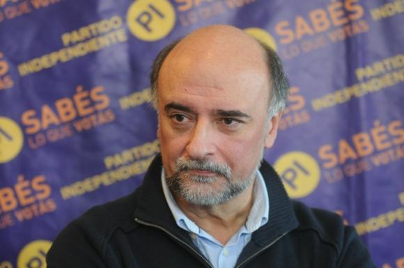 Pablo Mieres, senador del Partido Independiente. Foto: Francisco Flores.