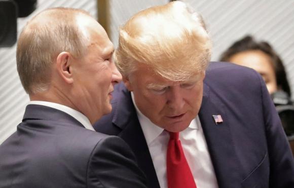 Donald Trump y Vladimir Putin. Foto: Reuters