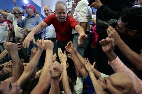 Lula: llegará a Montevideo para participar de las actividades organizadas por el Pit. Foto: AFP