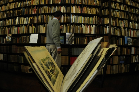 Linardi y Risso: una de las librerías que participará de la movida. Foto: F. Ponzetto