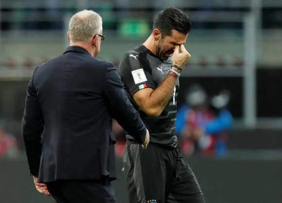 Gianluigi Buffon no pudo contener las lágrimas