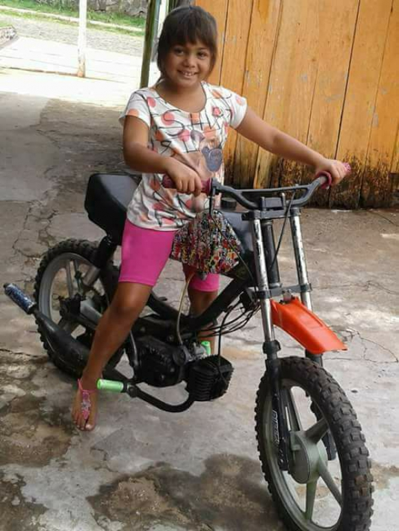 Sin noticias: Valentina (9) está desaparecida desde el domingo. Foto: Policía de Rivera