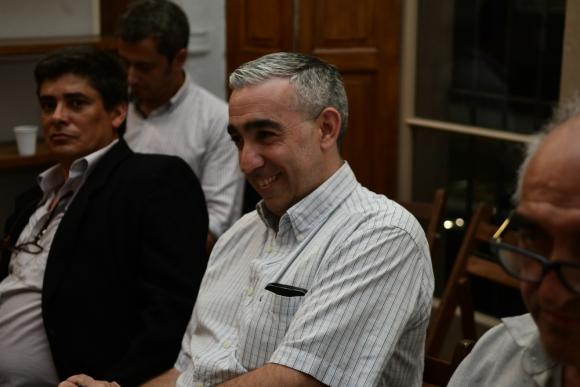 El coleccionista argentino Ricardo Stockdale, quien compró la carta y los mejores lotes gardelianos. Foto: M . Bonjour