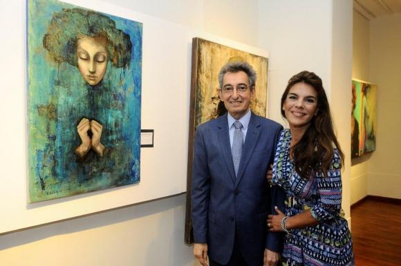 Omar Mesa y Victoria Rodríguez