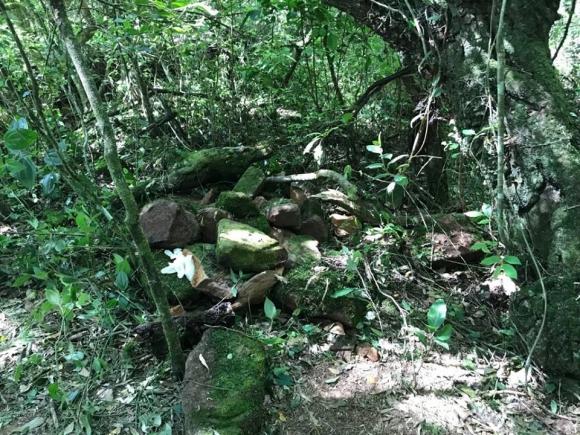 Lugar donde se encontró el cuerpo de Valentina. Foto: Telediario Rivera  Diez