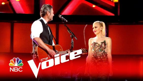 Gwen Stefani y Blake Shelton